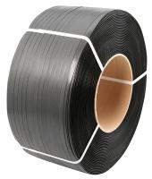 Лента ПП упаковочная 12мм/0.5мм/2500м чёрная