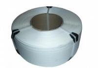Лента ПП упаковочная 12мм/0.5мм/3000м белая