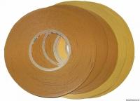 Клейкая лента РДА 12мм/50м двусторонняя прозрачная Klebebander