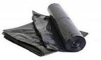 Мешок ПВД  90см/140см/ 60мк чёрный 10шт рулон