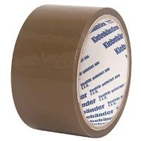 Клейкая лента 50мм/ 63м/45мк коричневая Klebebander