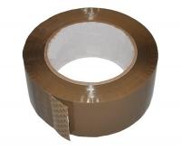 Клейкая лента 48мм/130м/45мк коричневая Крафт