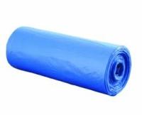 Мешок ПВД  60см/ 90см/ 25мк, 90л синий 20шт рулон